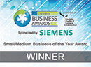 Lincolnshire Media Small-Medium Business of the Year Award  Winner