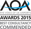 AOA Awards 2015 Best Consultancy Commended
