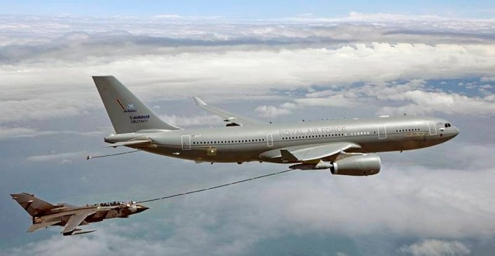 Osprey secures contract extension on the RAF Voyager aircraft