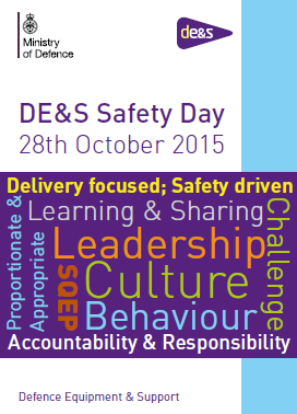 Osprey to support DE&S Safety Day at Abbey Wood