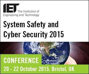 We're presenting at the IET System Safety and Cyber Security Conference