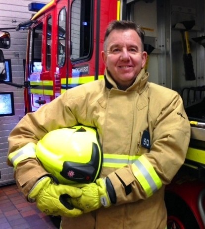Osprey Director becomes qualified member of Hampshire Fire & Rescue Crew