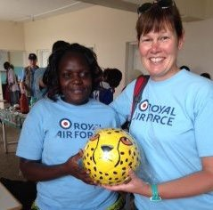 Week 2 – 'Taking Football to Africa and Beyond' – Sue's blog