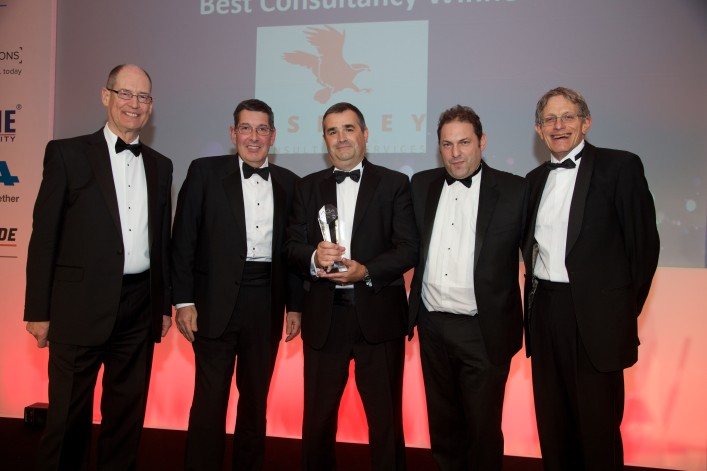 We've won 'Best Consultancy' at the annual AOA Awards