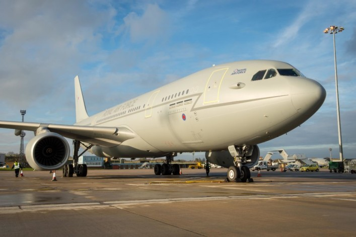 Osprey secures a contract extension on the RAF Voyager Aircraft