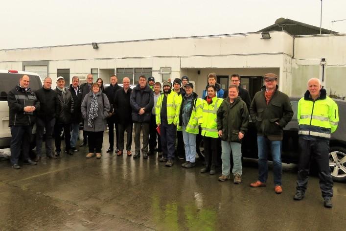 Environmental team site visit to Manston Airport