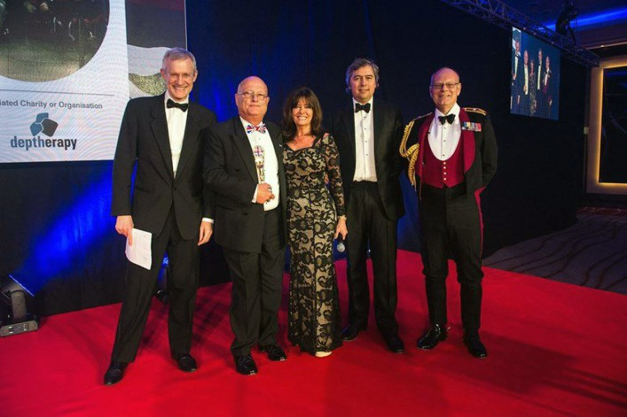Deptherapy wins prestigious Soldiering On Award