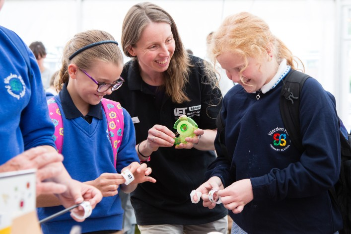 Inspiring the next generation at Cheltenham Science Festival