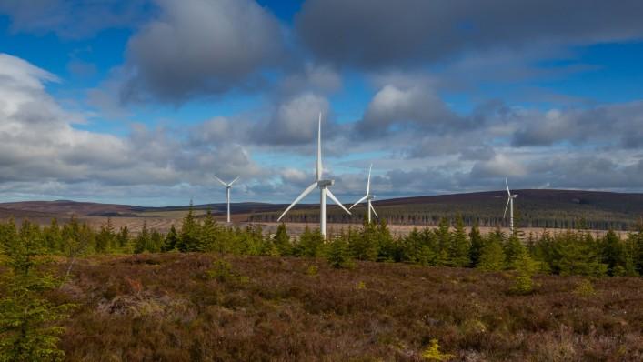 Osprey delivers aviation lighting variation study for the Clashindarroch II Onshore Wind Farm Development
